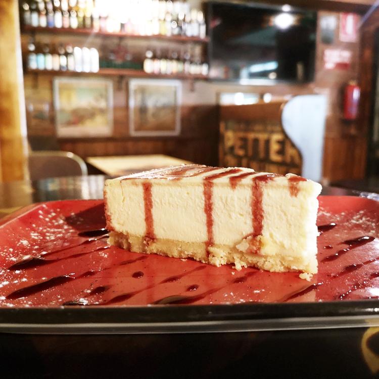 cheesecake sin gluten